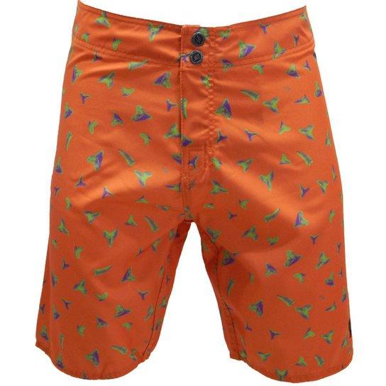 8b05aff9f3e88 Bermuda Água Mormaii Orange Shells - Compre Agora   Netshoes