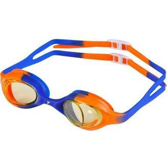 24c4e600bae1c Oculos De Natação Poker Junior Nimos - Laranja E Azul