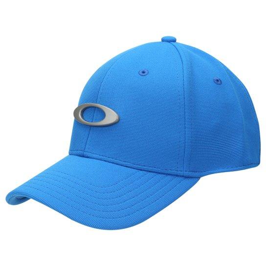 new concept 2ef77 fb8c6 Boné Oakley Aba Curva Tincan Masculino - Azul Piscina