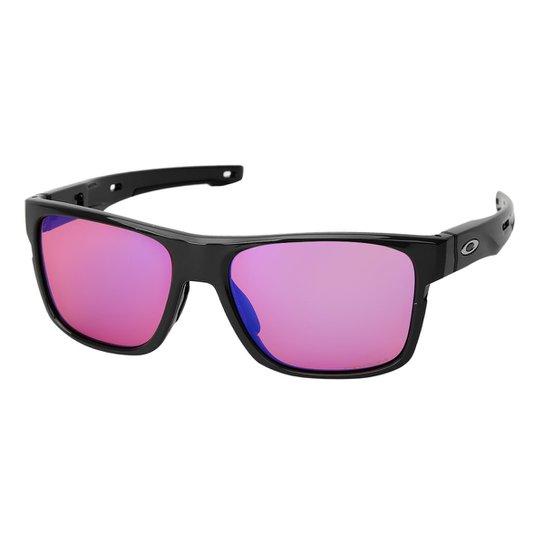 c12a3e5ac9164 Óculos Oakley Crossrange Masculino - Laranja e Preto - Compre Agora ...