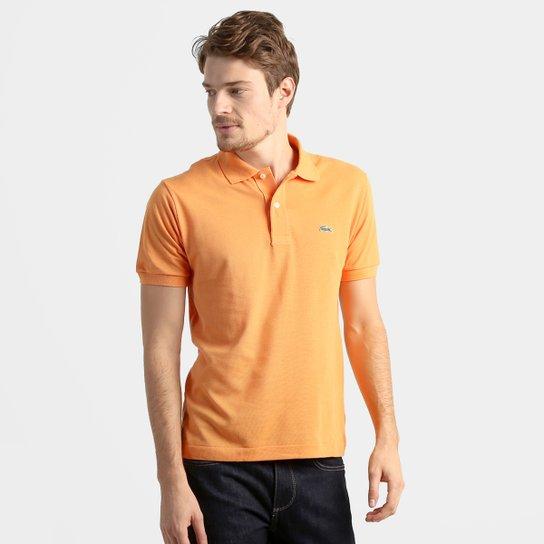 6b7d724449f02 Camisa Polo Lacoste Original Fit Masculina - Laranja - Compre Agora ...