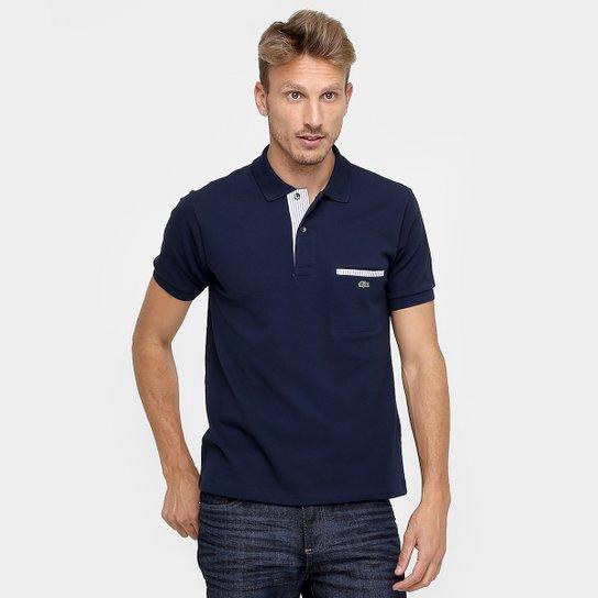 Camisa Polo Lacoste Original Fit Bolso - Compre Agora   Netshoes a5c5e2e983