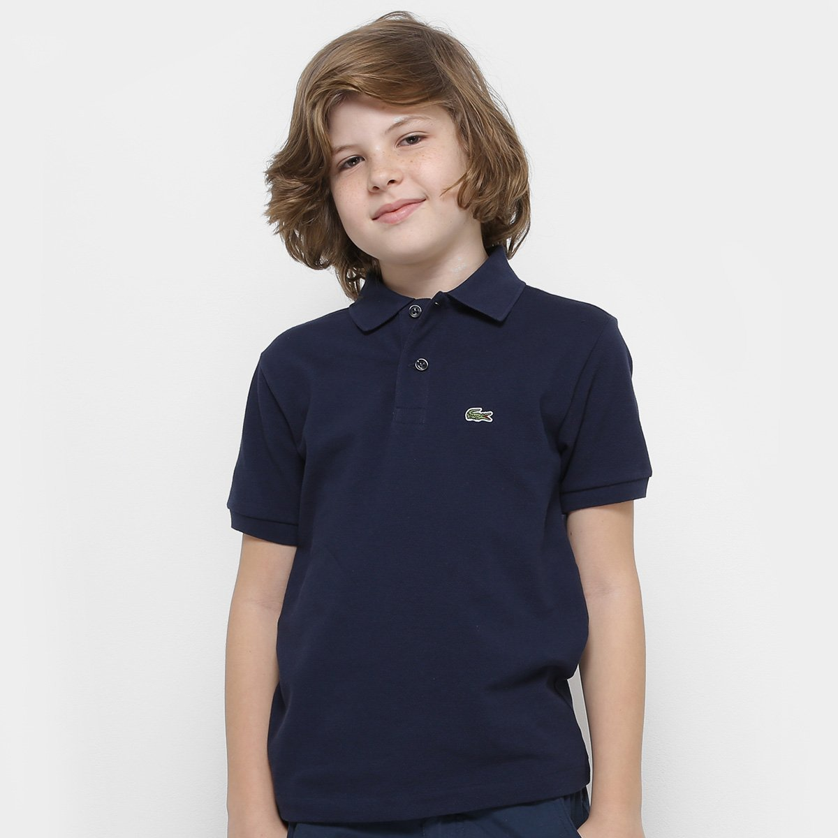 8d33ec32e5db1 Camisa Polo Infantil Lacoste Masculina