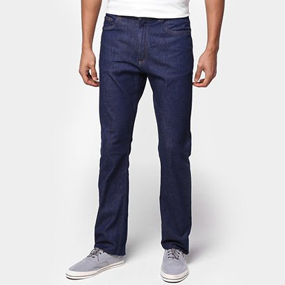 Calça Jeans Lacoste Lisa Relax Fit Masculina