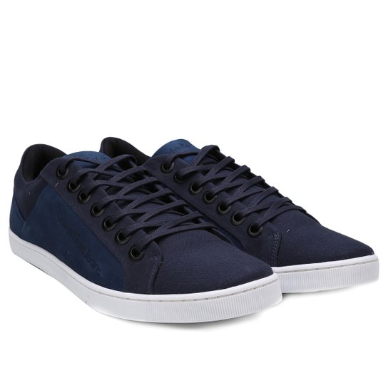 a004f435ad Sapatênis Calvin Klein Basic Masculino - Azul Escuro