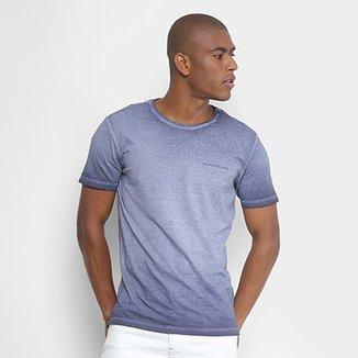 Camiseta Calvin Klein Estonada Logo Masculina 36e4ce14c7536