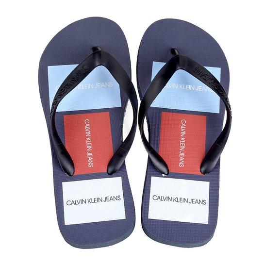 Chinelo Calvin Klein Jeans Dedo Masculino - Compre Agora  9bf805b6f78