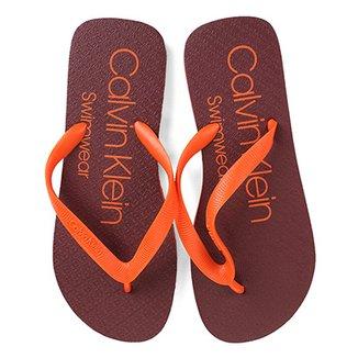 03bf186bc683c Chinelo Calvin Klein Swimwear Masculino