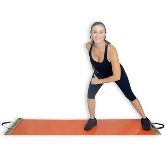 234ae2382c0 Slide Board + Par De Sapatilhas REA Fitness - Laranja - Compre Agora ...