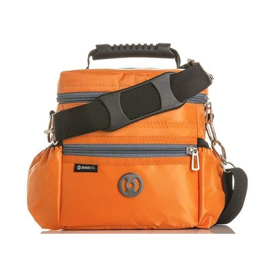 68fd92064 Bolsa Térmica Iron Bag Mini Pop Tamanho P + Combo de acessórios - Laranja