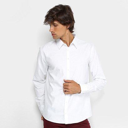 Camisa Colcci Slim Manga Longa Masculina