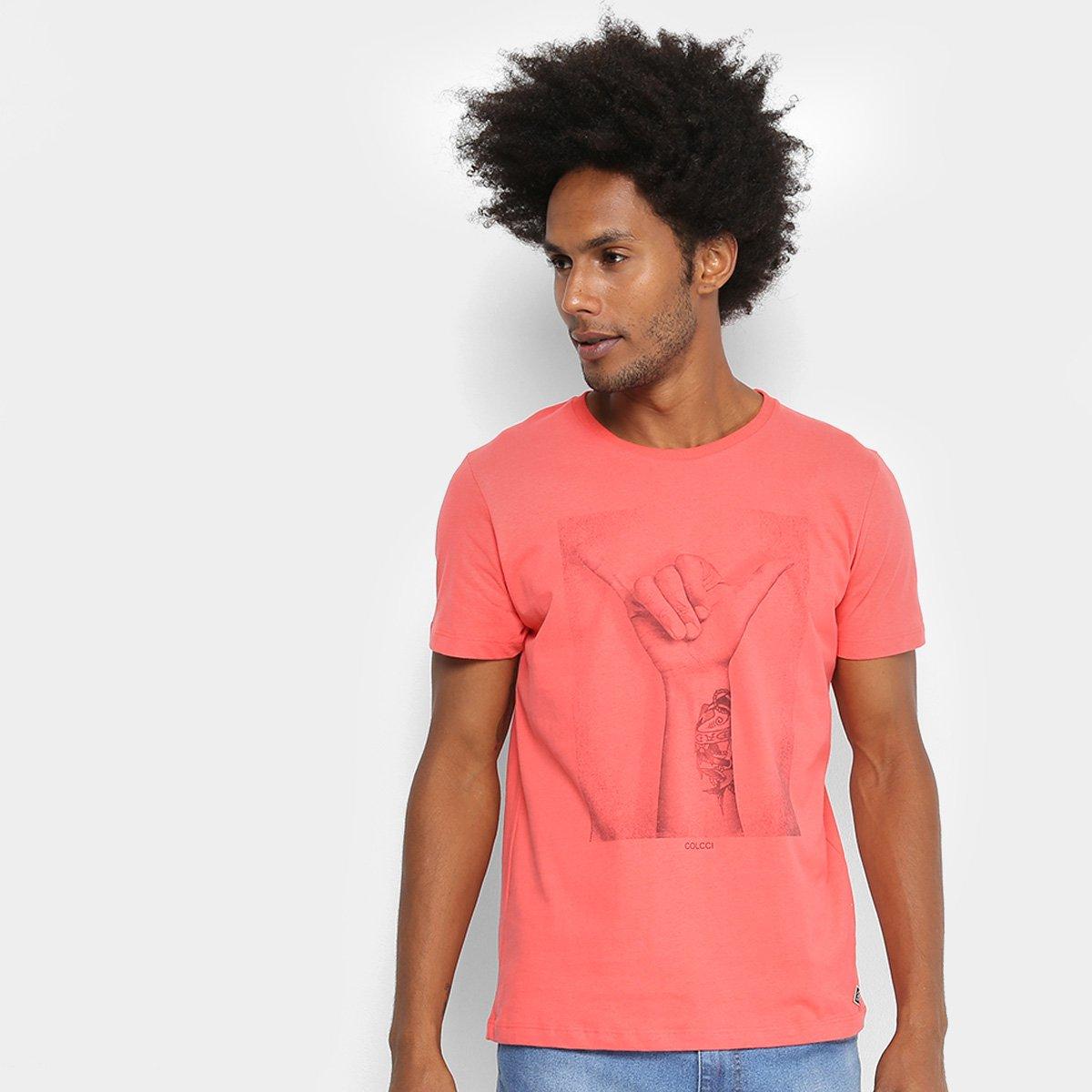Camiseta Colcci Hangloose Masculina 490cf50aef9