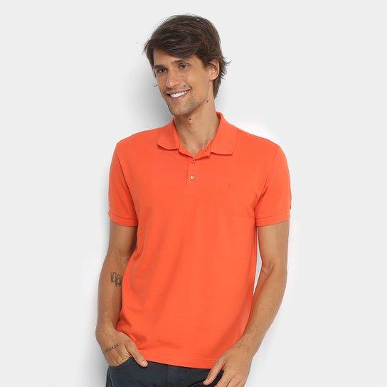 Camisa Polo Forum Piquet Básica Lisa Masculina - Compre Agora  d929f7f3d8e06
