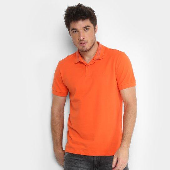 b699579c1f Camisa Polo Forum Piquet Masculina - Laranja - Compre Agora