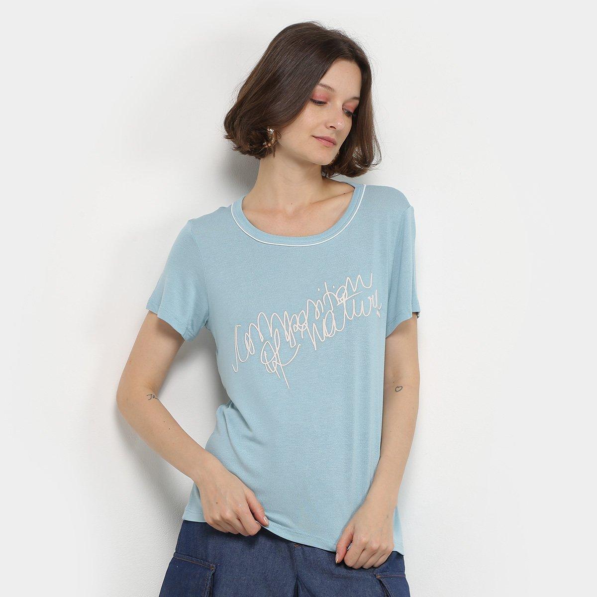 Camiseta Forum Manga Curta Feminina