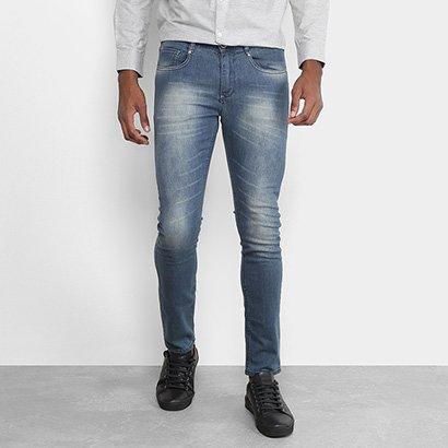 Calça Jeans Skinny Opera Rock Estonada Masculina