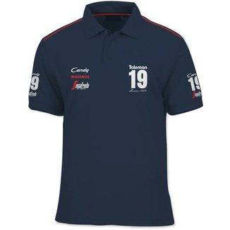 Camisa Polo Fórmula Retrô Toleman TG184 1984 e31fe2843807b
