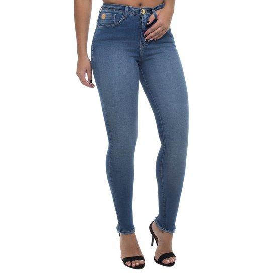 66c4b89a9 Calça Jeans Cigarrete Mid Rise Skinny Feminina - Compre Agora | Netshoes