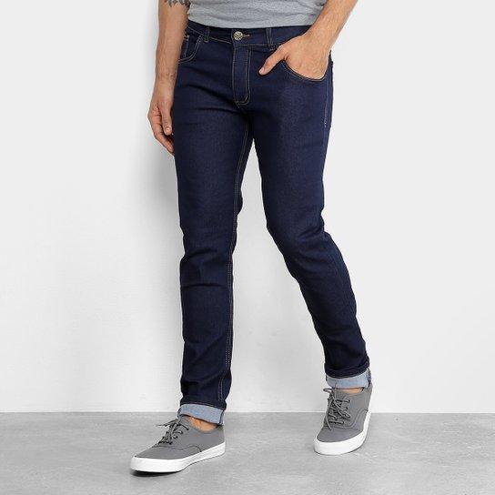 5e85901ea Calça Jeans Slim Coffe Lavagem Escura Masculina - Compre Agora ...