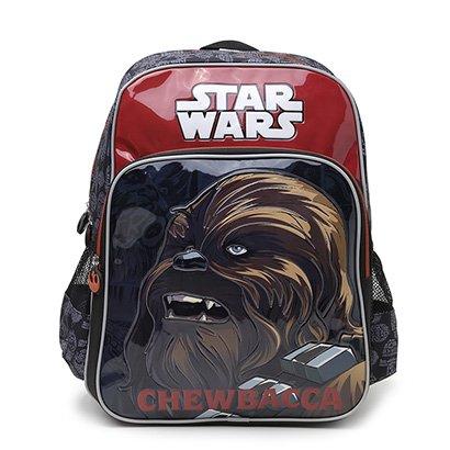 Mochila Escolar Infantil Luxcel Star Wars Masculina