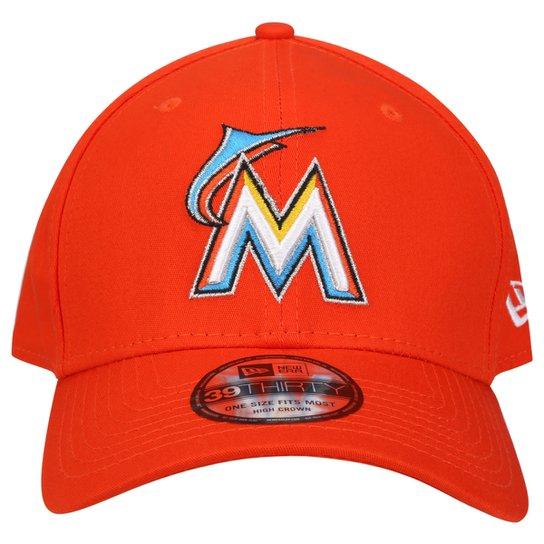 Boné New Era 3930 Hc Basic Team Logo Miami Marlins - Compre Agora ... 2e717577bf3