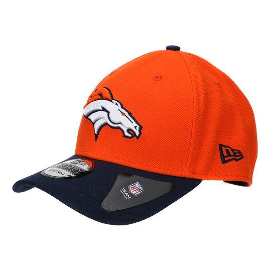 7df8021e5 Boné Denver Broncos New Era Aba Curva NFL 940 Hc Sn Basic - Laranja+Preto