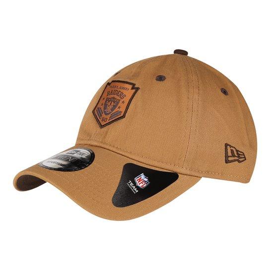 Boné New Era NFL Oakland Raiders Aba Curva 920 Sn Brown - Caramelo ... 8d259a94f3f09