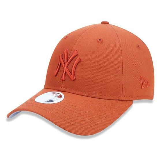 7c24cddd6638c Boné New York Yankees 920 Tonal Feminino New Era - Laranja - Compre ...