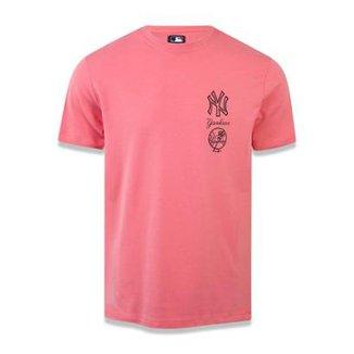Camiseta New York Yankees MLB New Era Masculina 57c31c7ca58