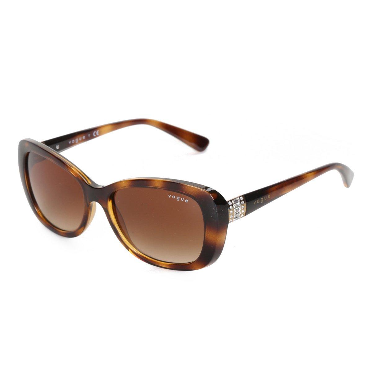 Óculos De Sol Vogue Metal Com Lentes De Plástico 0VO2943SBW6561355 Feminino