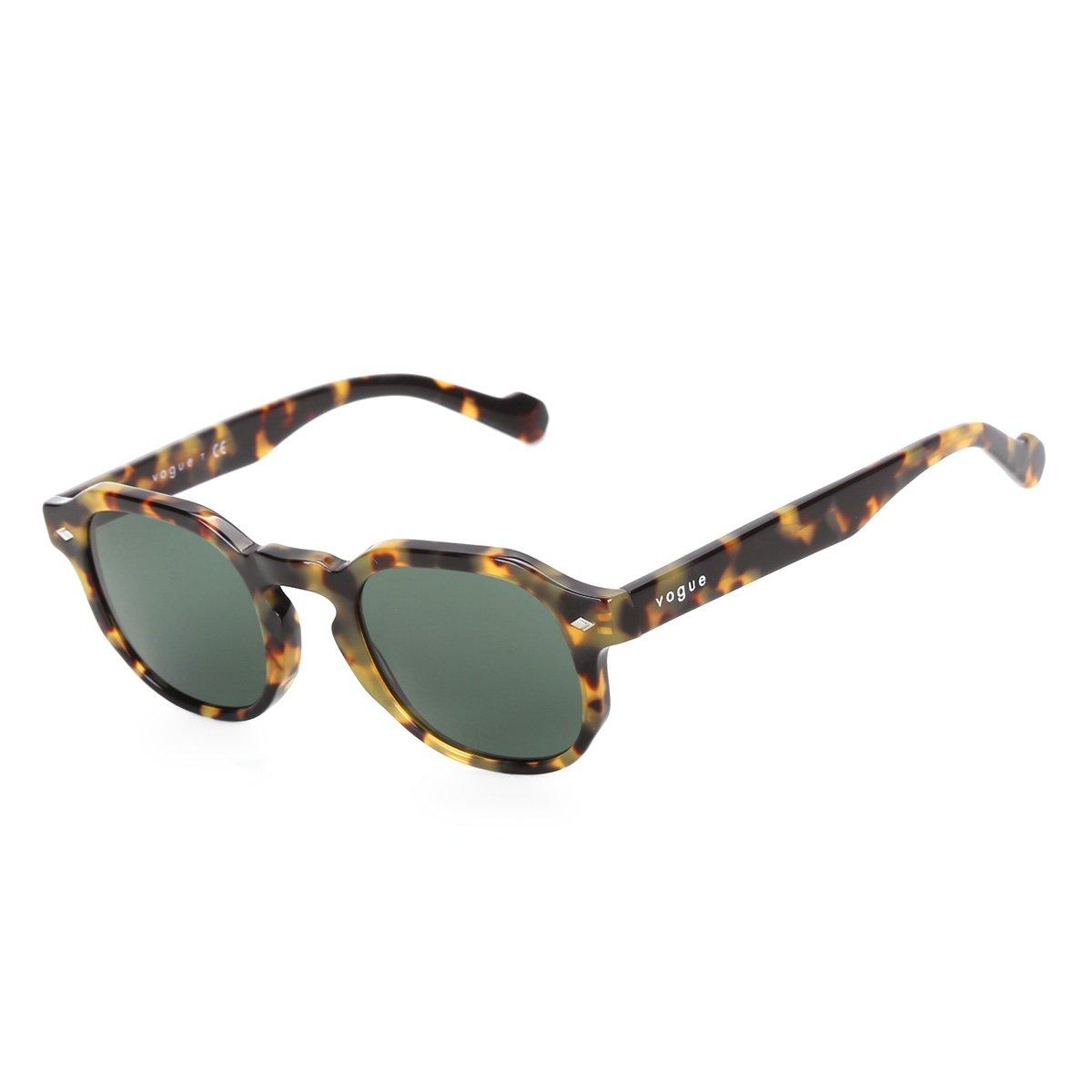 Óculos de Sol Vogue Quadrangular Tartaruga VO5330S Masculino
