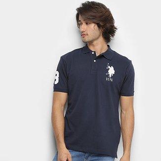 d2e4c509d7 Camisa Polo U.S. Polo Assn Piquet Bordado Masculina