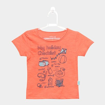 Camiseta Flamê Infantil Kiko & Kika