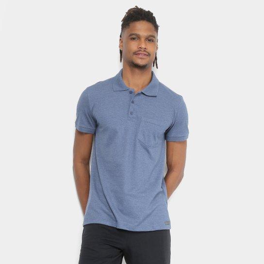 Camisa Polo Kohmar Piquet Básica Masculina - Azul Escuro - Compre ... 863bf29b46dad