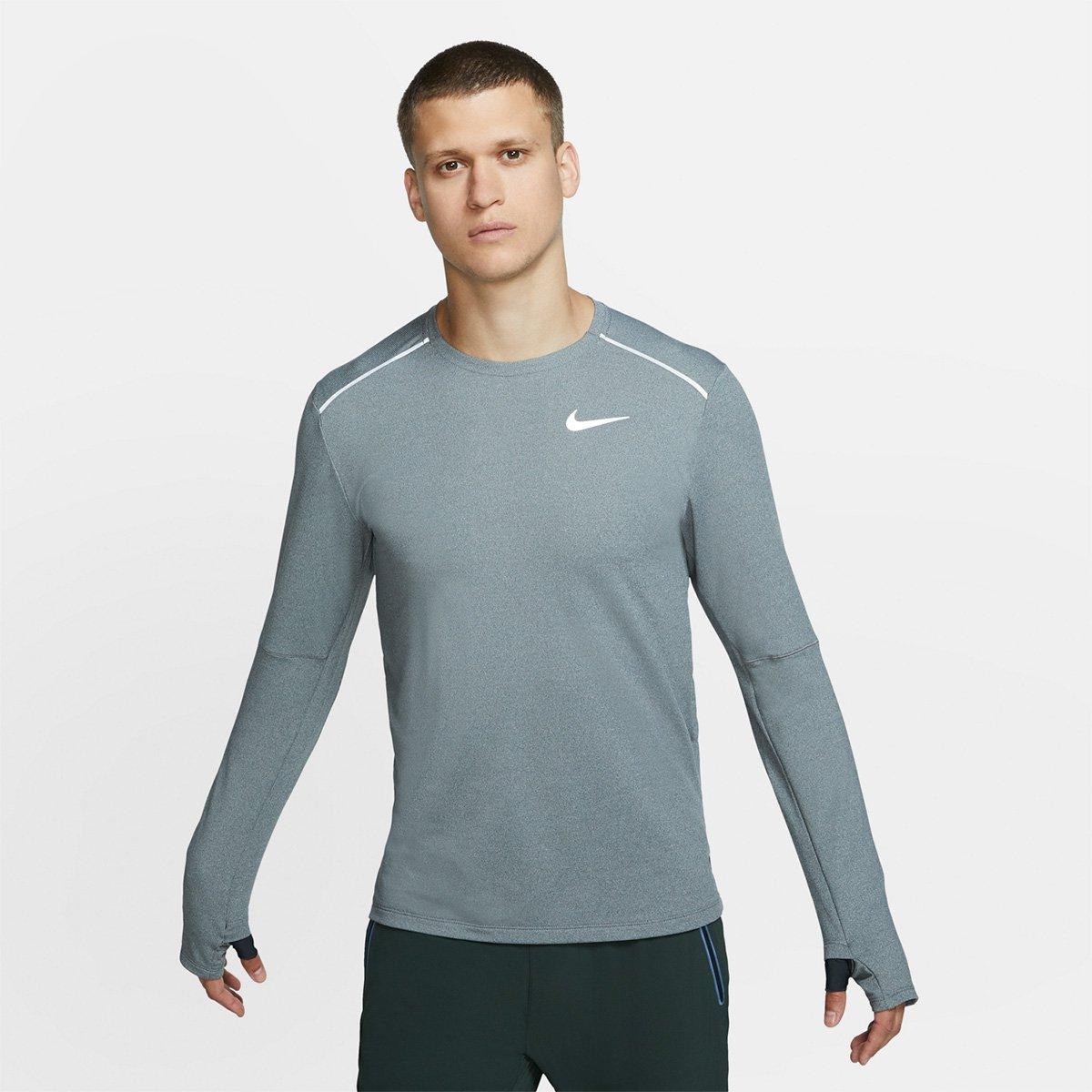 Camiseta Manga Longa Nike Element Crew 3.0 Masculina