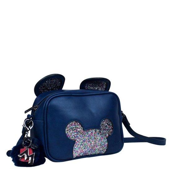 04ee3ee17 Bolsa Mickey Mouse BMK78341 - Azul Escuro