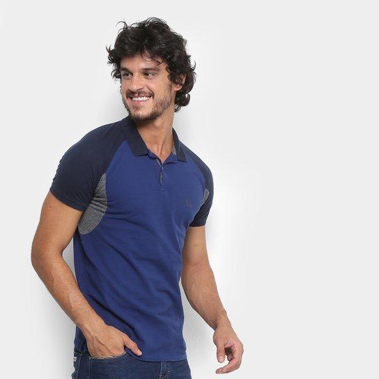 Camisa Polo Acostamento Haglan Recortes Masculina - Compre Agora ... e2a1fc3fc81