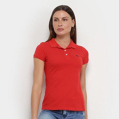 Camisa Polo Acostamento Feminina