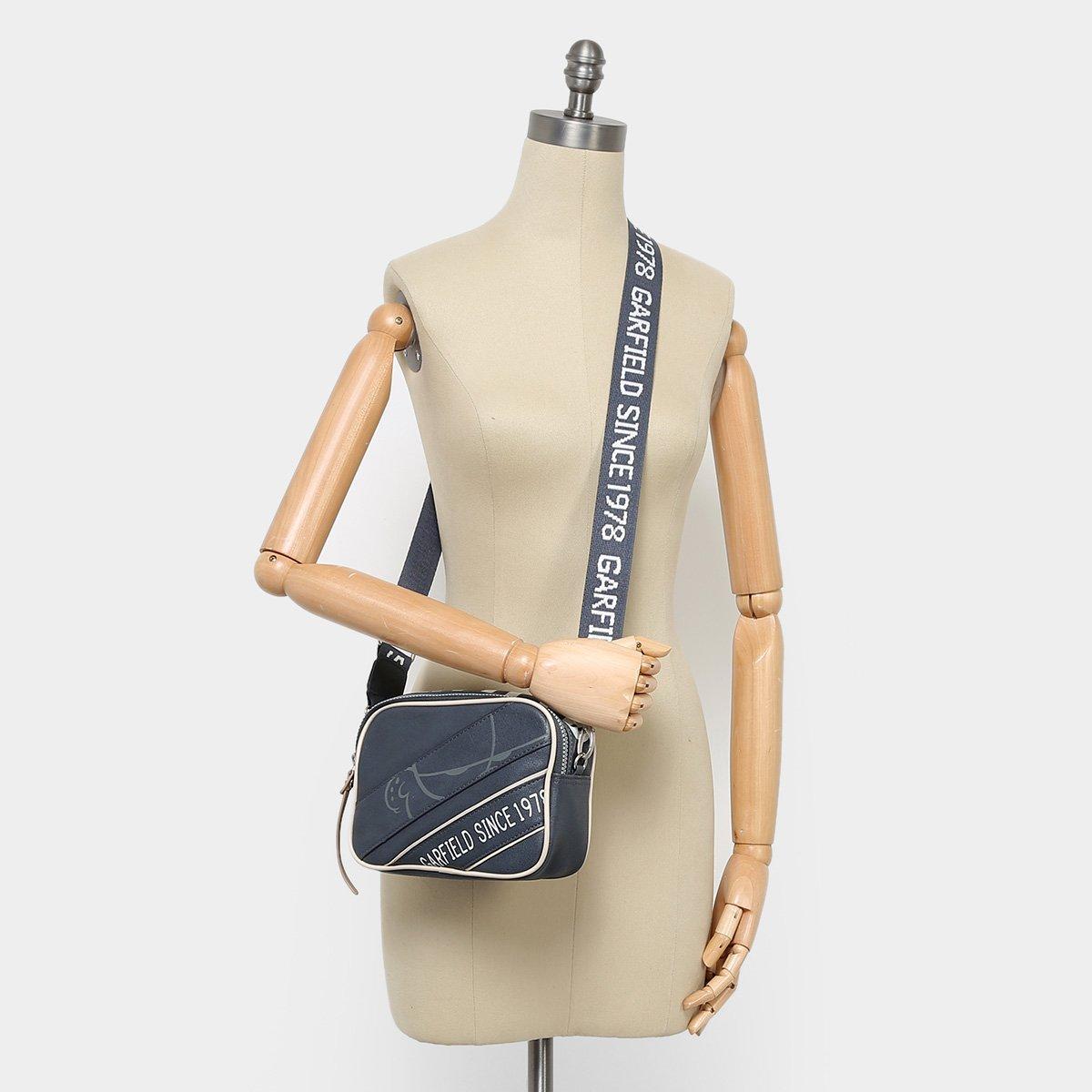 Foto 2 - Bolsa Semax Mini Bag Transversal Garfield Feminina