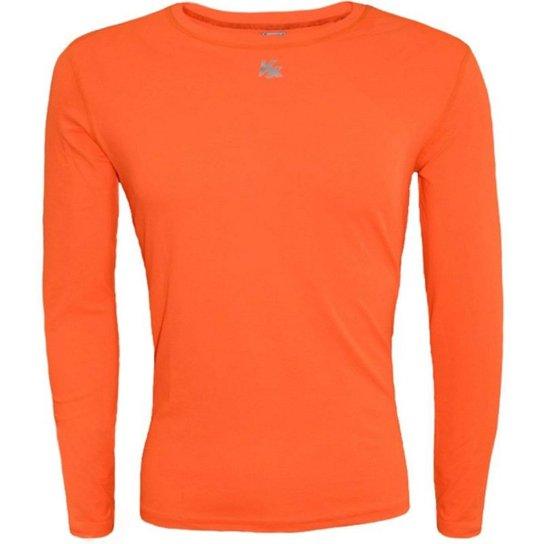 Camisa Térmica Infantil Fator Proteção Solar Uv50 5875 - Laranja ... 059bbedf7f4