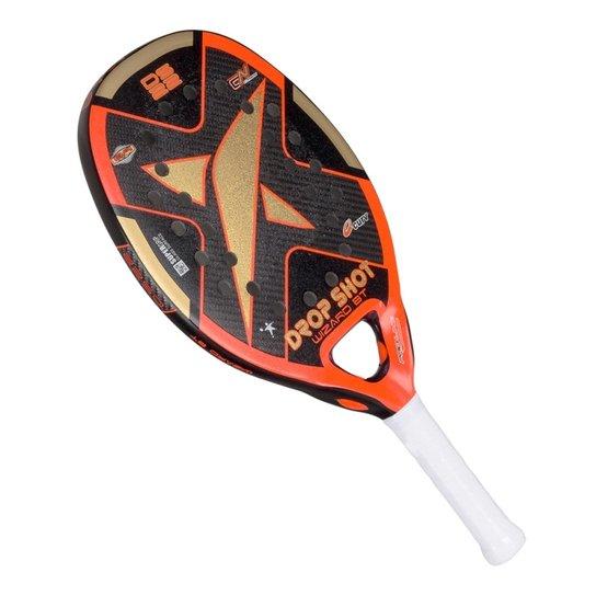 9b561f570 Raquete De Beach Tennis Drop Shot Wizard - Laranja
