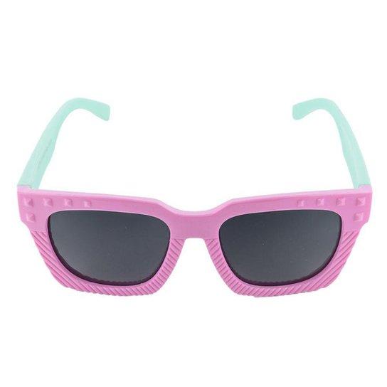 Óculos de Sol Khatto Infantil Funny Feminino - Rosa e Verde - Compre ... d6e5dc9541