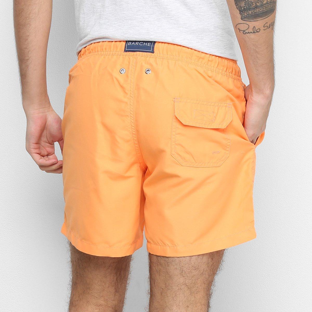Shorts Barche Liso Masculino - Tam: G - 1