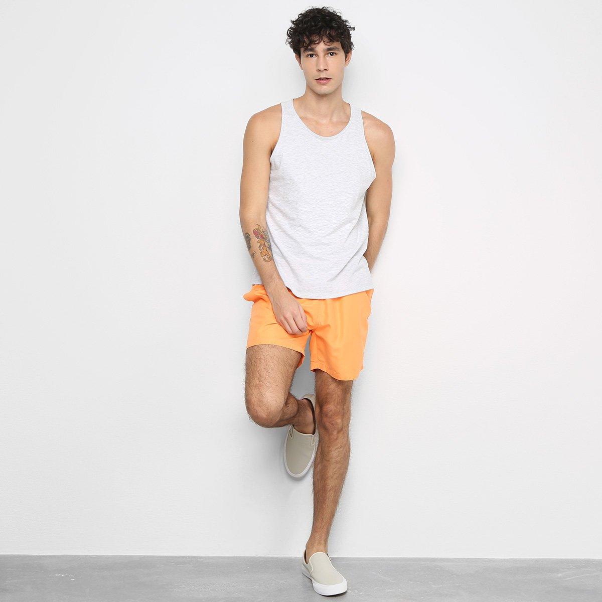 Shorts Barche Liso Masculino - Tam: G - 2