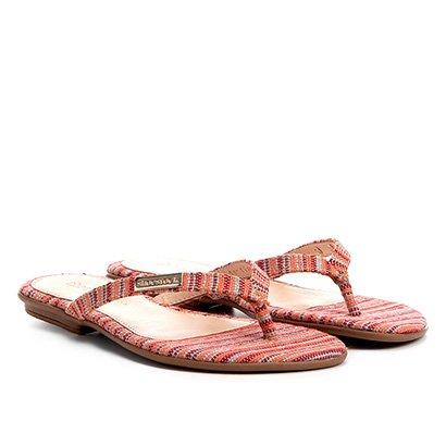 Rasteira Infantil Shoestock Estampada Feminina