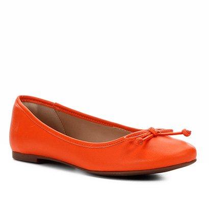 Sapatilha Shoestock Laço Basic Napa Feminina