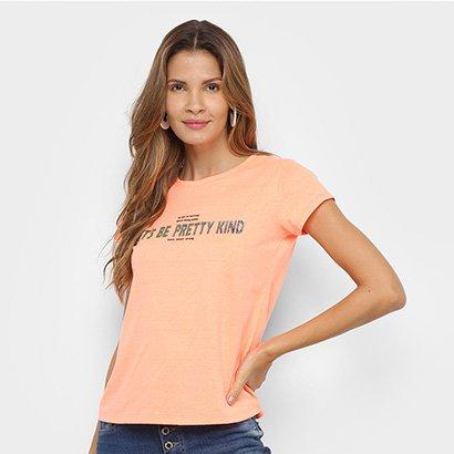 Camiseta Lecimar Pretty Kind Feminina