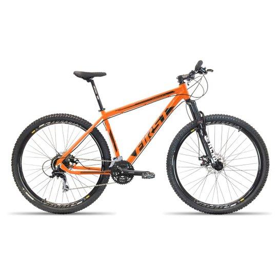 805b53cfd Bicicleta Aro 29 First Smitt 27 Velocidades Kit Shimano Acera Freio  Hidráulico e Suspensão - Laranja