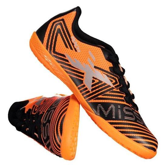 Chuteira Oxn Mission 2 Futsal Juvenil - Laranja - Compre Agora ... d7b64b5a9ca7c