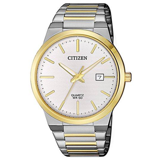 1a3a0eca980 Relógio Citizen Analógico TZ20831S Masculino - Prata e Dourado ...